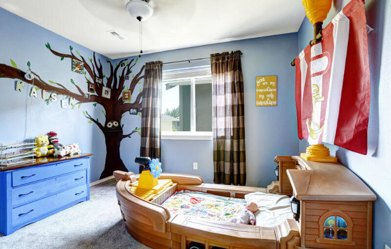 Bien décorer la chambre d'un enfant