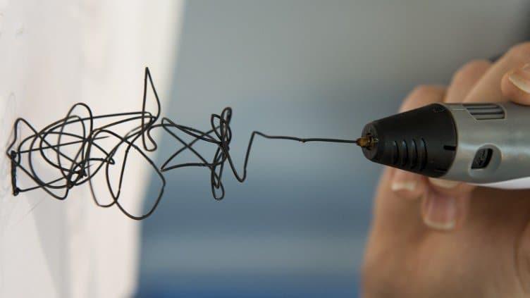 stylo3d dessiner