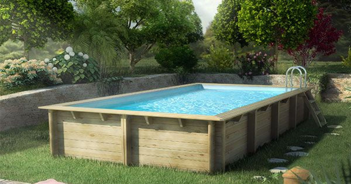 Piscine tubulaire intex ultra silver for Piscine jardin rectangle