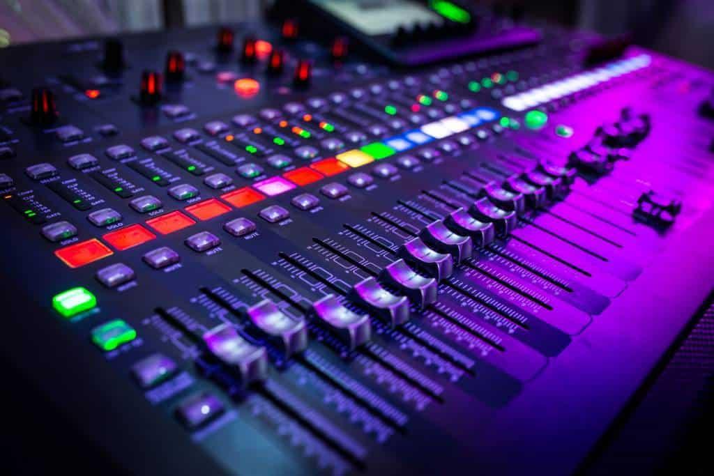 Le mixage audio